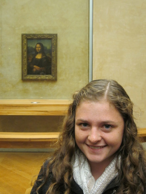 Just casually chilling with Mona